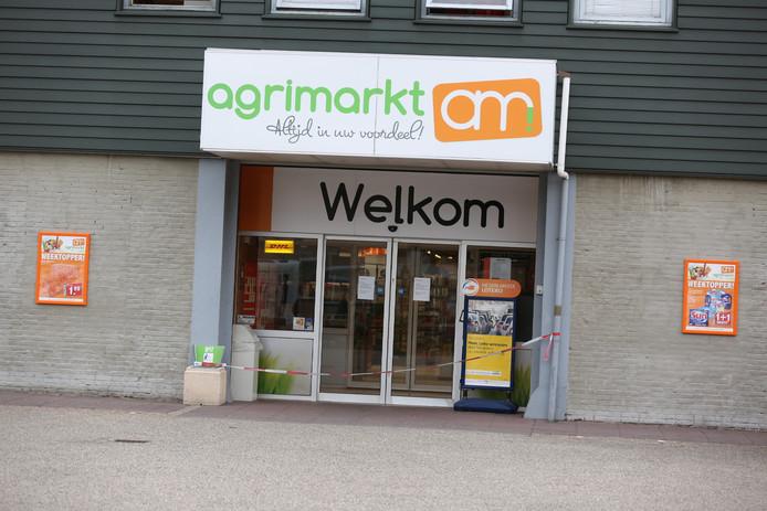 De Agrimarkt in de Streuvelslaan in Roosendaal is gesloten