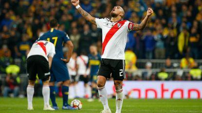 LIVE COPA LIBERTADORES. GOAL! Quintero treft met een heerlijk schot raak in de tweede verlenging, kan Boca alsnog reageren?