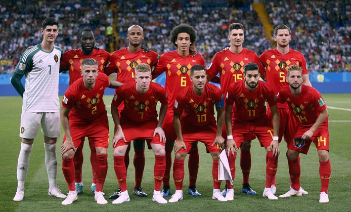 Het nationale team van België.