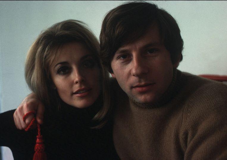 Sharon Tate en Roman Polanski in 1968.
