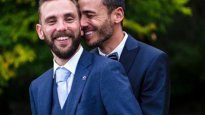 """Nick & Christophe in 'Blind Getrouwd' beter dan om het even welke campagne: """"20.000 stappen vooruit voor holebi's"""""""