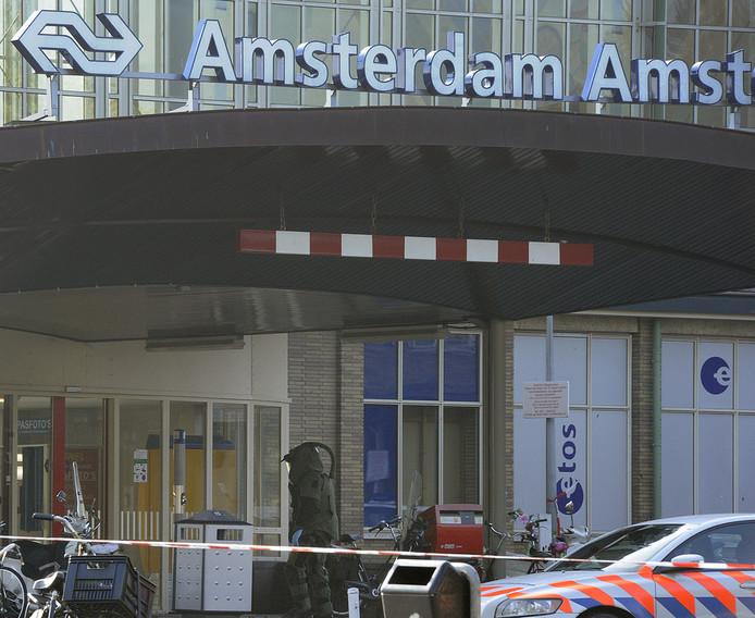De Hogeschool van Amsterdam bevindt zich vlak achter het Amstelstation.