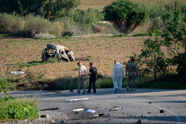 In oktober werd de auto van de journaliste met een bom tot ontploffing gebracht.
