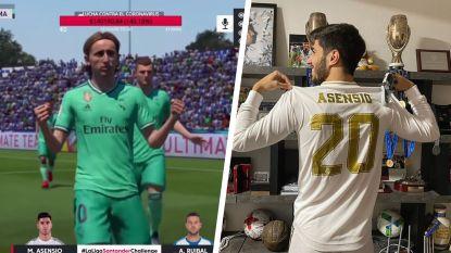 Real-aanvaller Asensio wint FIFA20-toernooi voor ogen van ruim 170.000 (!) fans, opbrengst gaat integraal naar strijd tegen corona