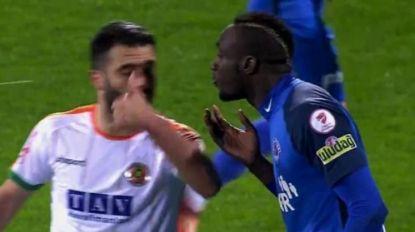 Spuwen naar tegenstander, afwezig op titelfeest en twee penaltyfarces: incidenten met Diagne stapelden zich in 2019 op