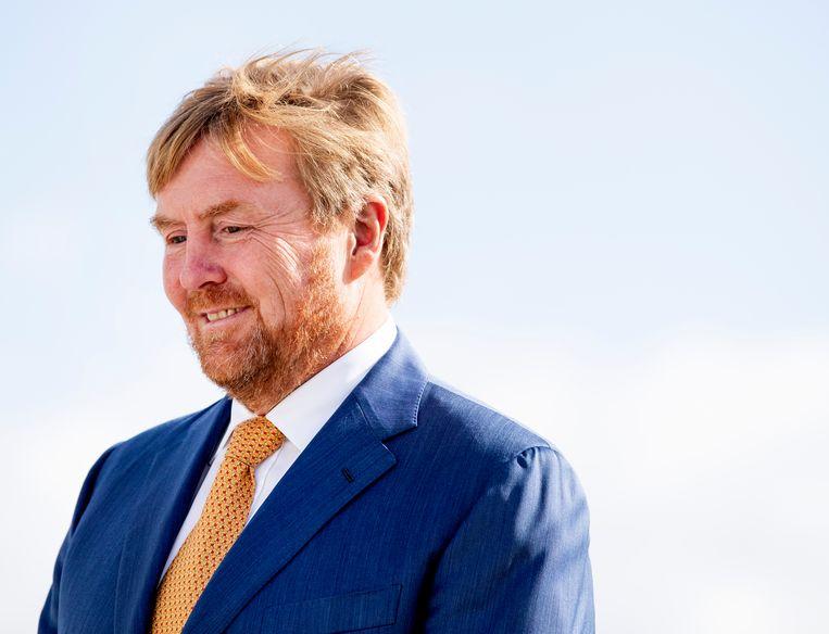 Met zo'n redder van de monarchie heb je geen Republikeins Genootschap meer nodig, zal Willem-Alexander brommen in zijn baard. Beeld ANP