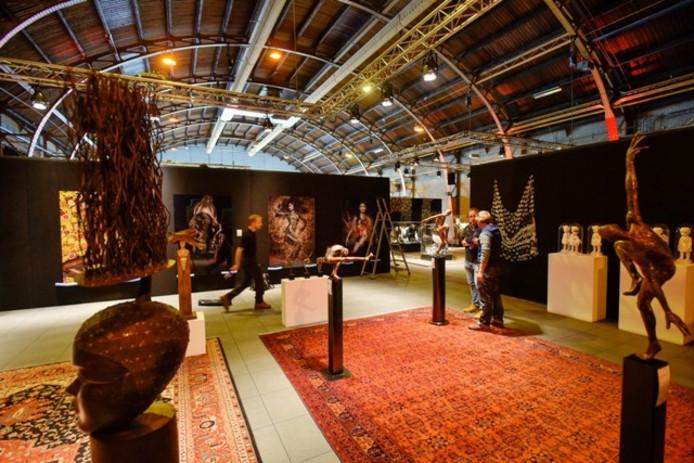 De Biënnale in de Koepelhal. Foto Jeroen de Jong/BeeldWerkt