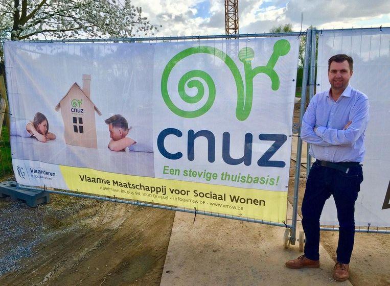 CNUZ-voorzitter Guy Dumst.