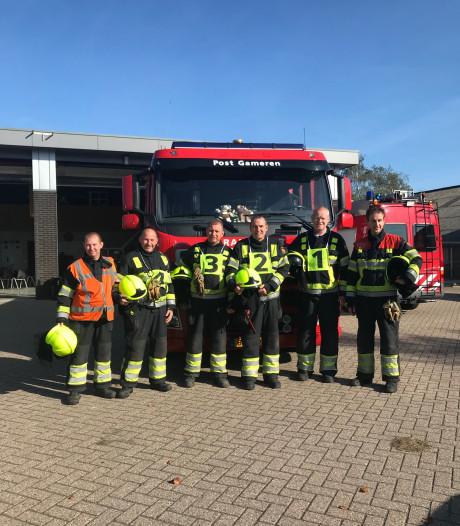 Brandweer Gameren neemt wisselbeker Bommelerwaardse Vaardigheidstoetsen over van Zaltbommel