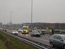 Kettingbotsingen op A59 en parallelweg bij Vlijmen