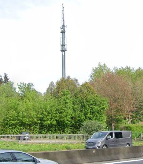 Un pylône GSM a été endommagé par un incendie le long du ring de Bruxelles