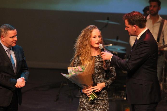 Lizzy Witlox werd uitgeroepen tot Veldhovens Sportvrouw van het Jaar 2018