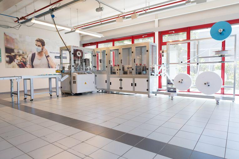Verpakkingsspecialist Ducaju investeerde in een mondmaskermachine