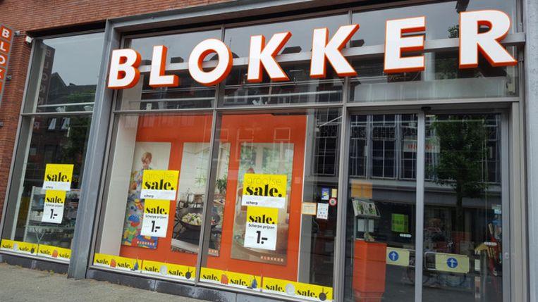 Een pand van Blokker.