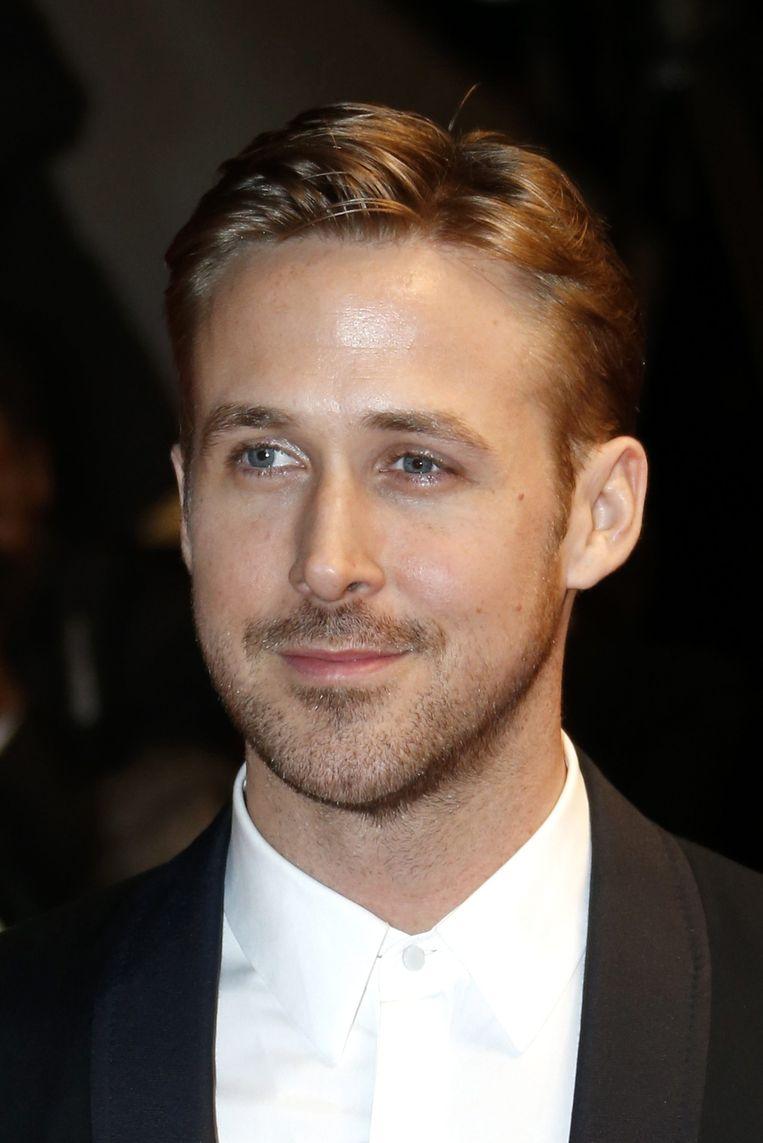 Hollywoodacteur Ryan Gosling presenteert zijn regiedebuut Lost river Beeld EPA