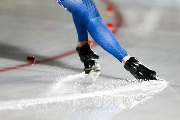 Schaatsen is een van de sporten waarin het schildkliermedicijnen wordt gebuikt voor betere prestaties. Beeld ANP