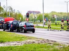 Voertuig verliest gas na kop-staartbotsing bij Baarn