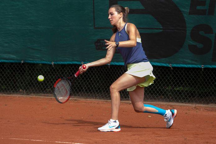 Tennisster Veerle Janssen.