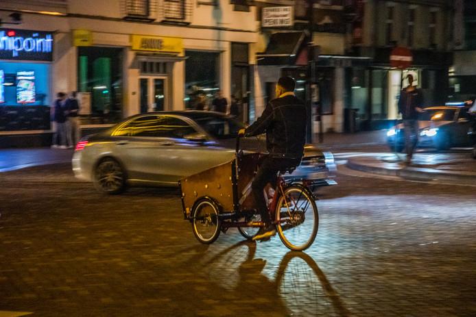Een lachgasverkoper in Nijmegen.