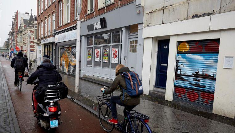 Amsterdam heeft na een jarenlange lobby toestemming gekregen de snorscooter naar de rijbaan te verbannen Beeld anp