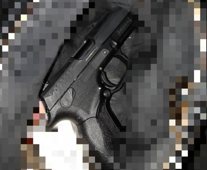 Het gevonden vuurwapen