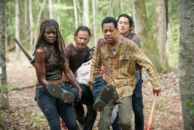 The Walking Dead.  Beeld Gene Page/AMC