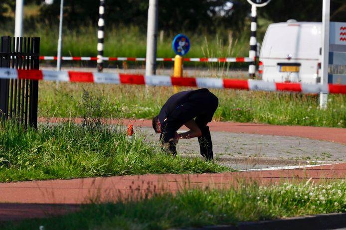 Het onderzoek naar een schietpartij in Eindhoven.
