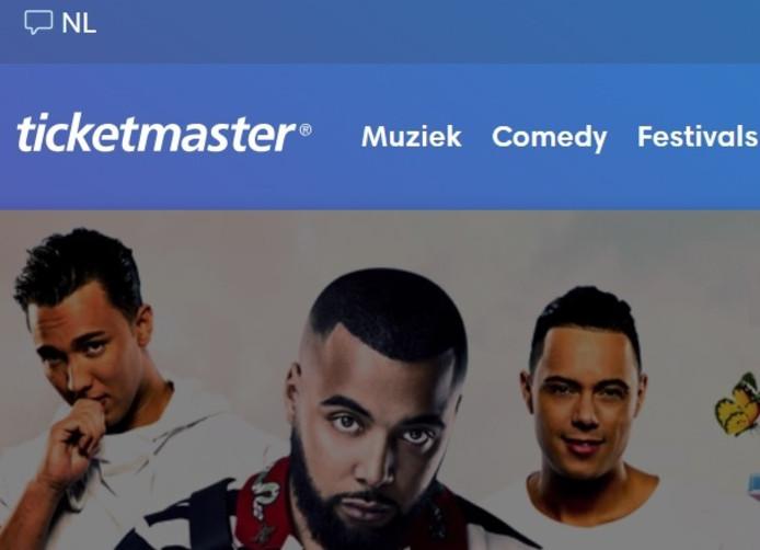 De Nederlandse website van Ticketmaster