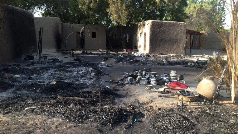 Vrijdag vielen rebellen van Boko Haram het dorpje Nougboua binnen.