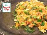 Zoete aardappelbrandade met kabeljauw