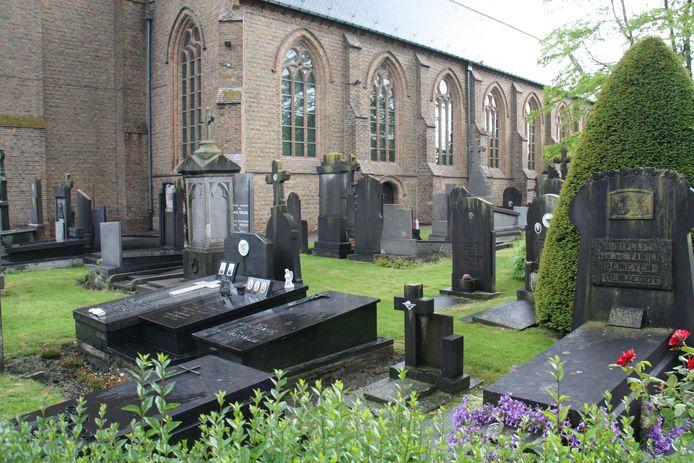 Dit kerkhof in Keiem wordt gedeeltelijk ontruimd maar dat zal een proces van jaren zijn