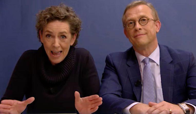 Tania Van Der Sanden en Ivan De Vadder