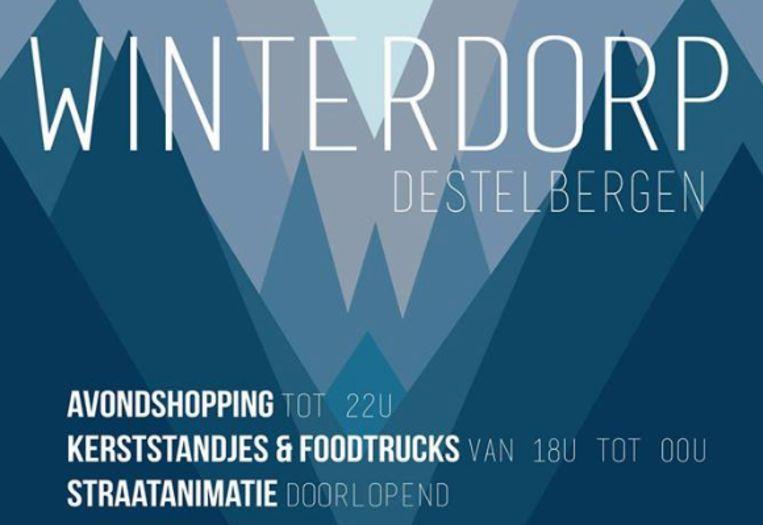 Winterdorp in Destelbergen.