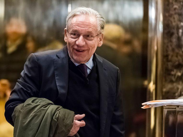 Voor zijn nieuwe boek 'Fear' sprak de gelauwerde journalist Bob Woodward met leden van de staf van Trump. Beeld EPA