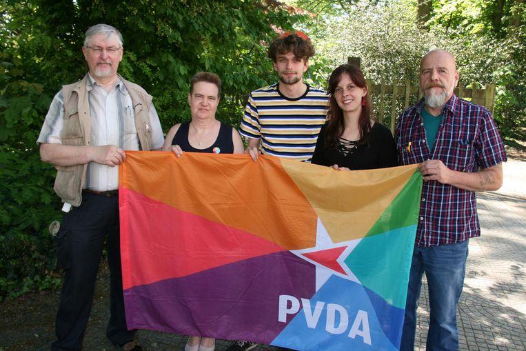 PVDA hoopt minstens één zetel te behalen.