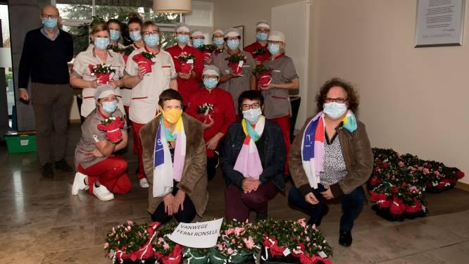 160 azalea's voor zorgpersoneel van Ons Zomerheem