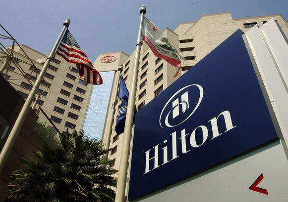 Het Hilton Hotel in Long Beach, Californië.