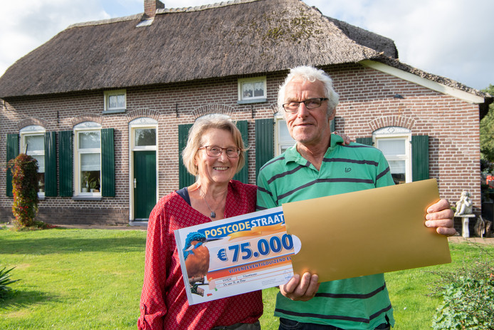 Rutger en Femmie de Boer uit Nieuwleusen wonnen afgelopen week 75.000 euro en een gloednieuwe BMW.