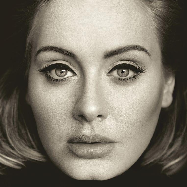 De cover van haar nieuwe album '25', dat morgen uitkomt. Het krijgt van Trouw 3 sterren. Beeld ap