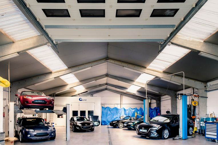 Garage Patrick Petit langs de Provincieweg in Zottegem.