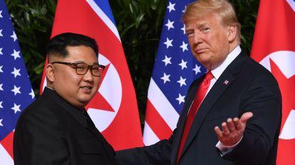 Trump is blij met 'terugkeer' Kim Jong-un