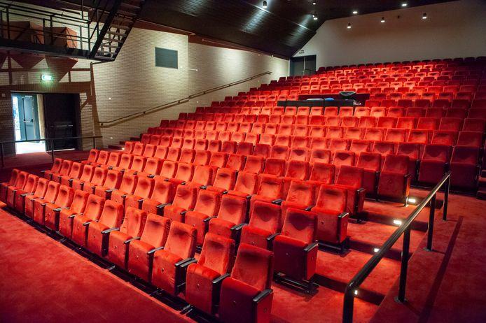 De theaterzaal in cultureel centrum De Voorste Venne in Drunen.