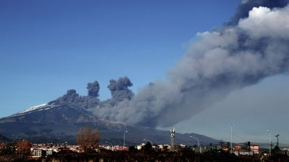 Vulkaan Etna blijft rommelen: zeker tien gewonden bij recente reeks aardbevingen