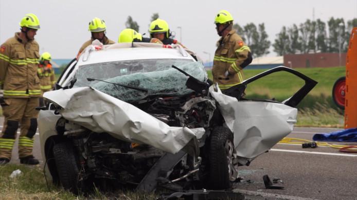 Bij het dodelijk ongeluk op de N250 bij Den Helder kwam de 30-jarige marinier om het leven.