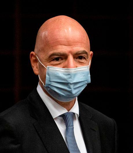 FIFA-voorzitter Infantino besmet met coronavirus