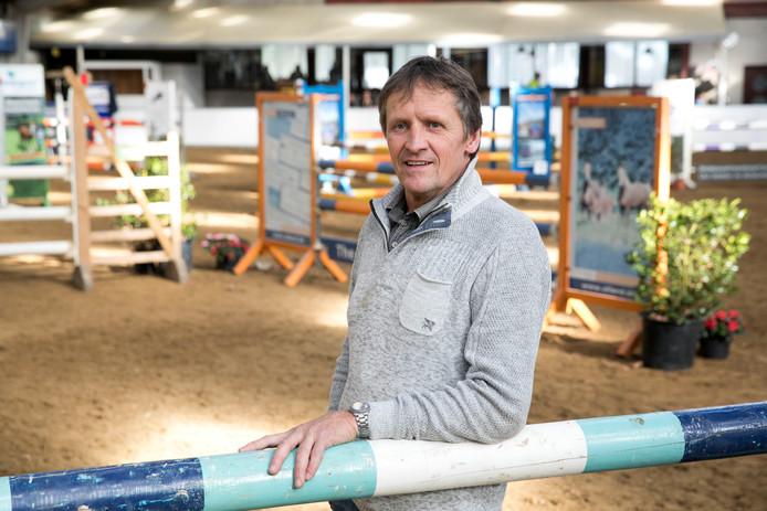 Parcoursbouwer en organisator Marius Bens.