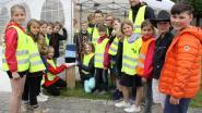 Kinderen openen wandelroute in Oosterlosepad