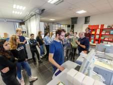300 leerlingen backstage bij bedrijven in Steenwijkerland