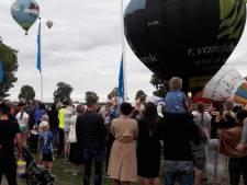 Ballonnen alsnog de lucht in boven Grave
