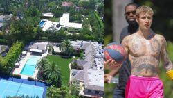 BINNENKIJKEN. Justin Bieber koopt villa van Madonna met tennisveld en bioscoop